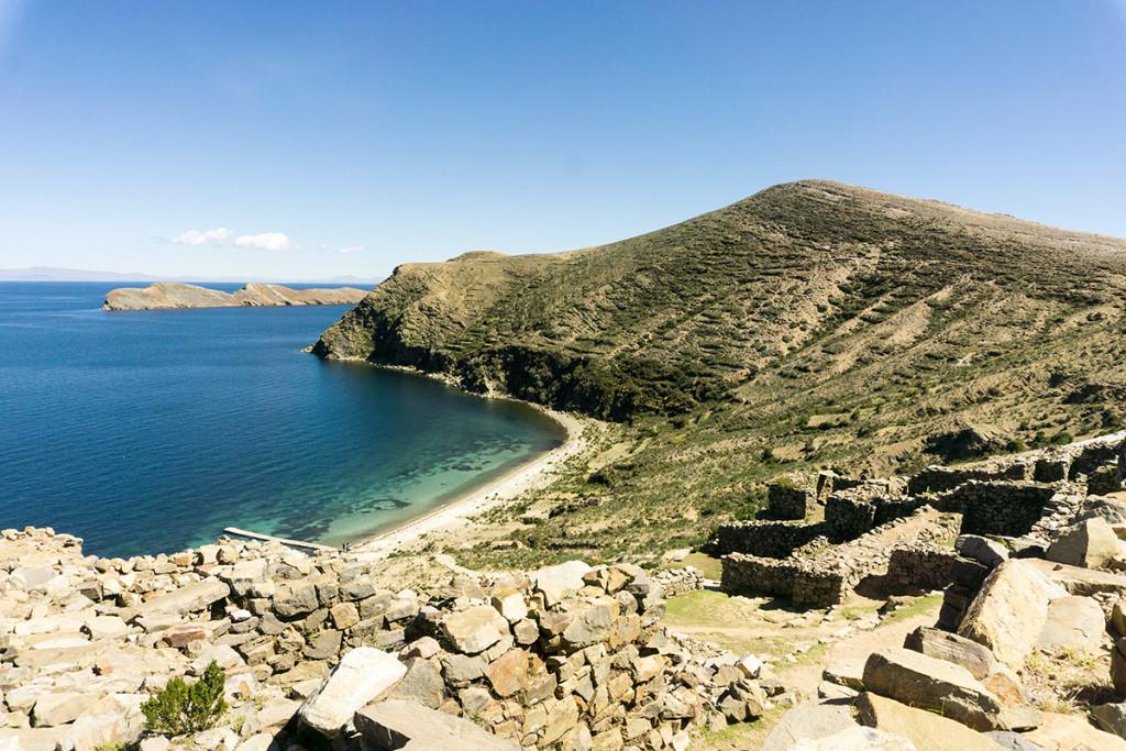 Chinkana Inka ruins.