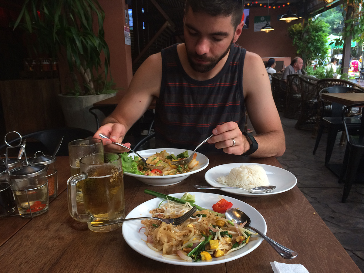First meal in Thailand!